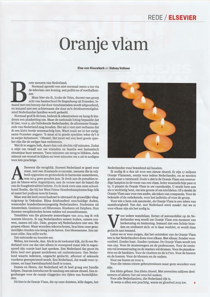 Oranje Vlam