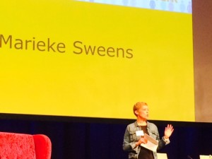Congres Mensenwerk Marieke Sweens